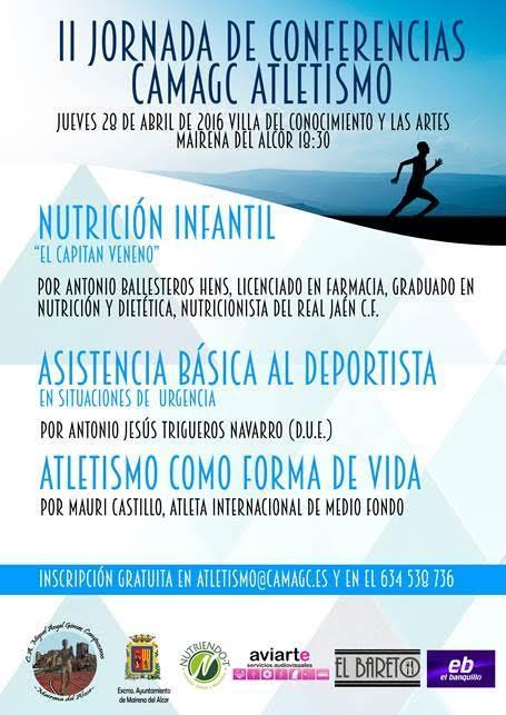 II Jornadas de Conferencias Deportivas CAMAGC