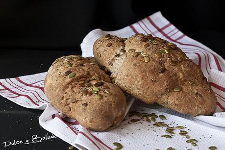 Pan de Centeno con Semillas de Chia y de Calabaza