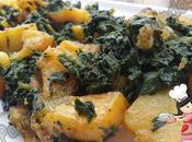 *Espinacas rehogadas patatas (Olla GM-E, tradicional)