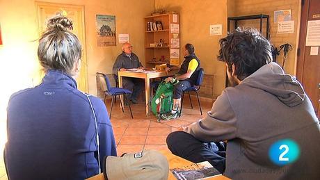TVE Serie Camino Santiago. Calzada del Coto (León)