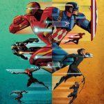 Póster de Capitán América: Civil War para Ucrania