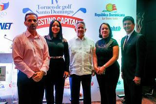 Presenta la cuarta versión de golf, Santo Domingo Destino Capital 2016