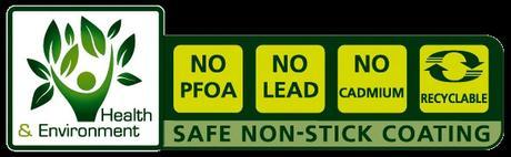 Sartén sin PFOA ni PTFE