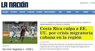 Costa Rica descubrió en la migración cubana al culpable de la crisis en Centro América [+ video]