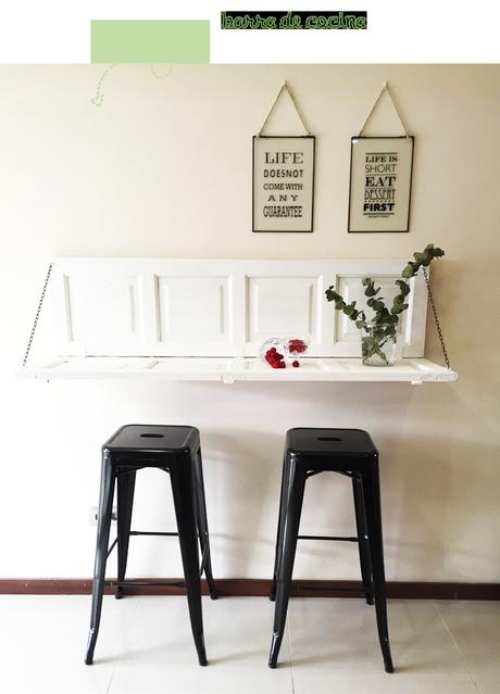 Barra de cocina DIY: fácil, bonita y al mejor precio