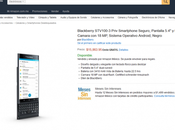 BlackBerry Priv está disponible México través Amazon