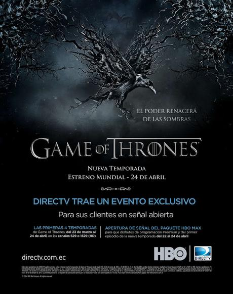 Revive todas las temporadas de Game of Thrones en DirecTV