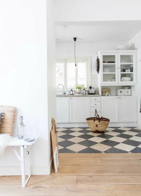 Deco: blanco y madera para ganar luminosidad