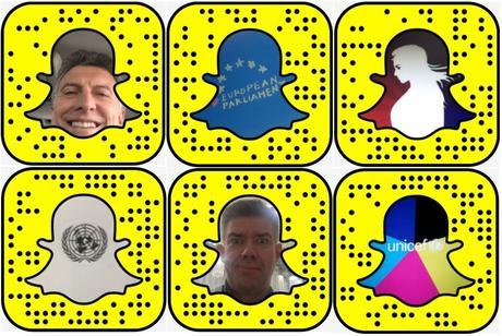 Estudio: Cómo usan los líderes mundiales Snapchat