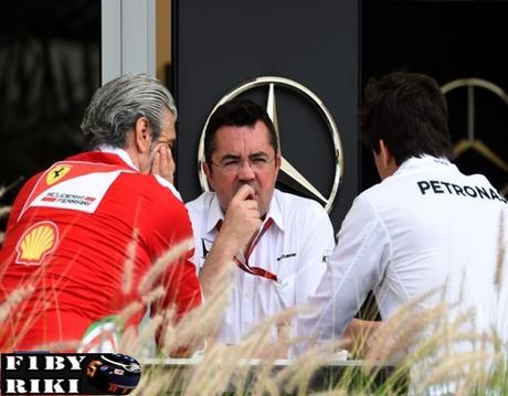Según Ecclestone Mercedes ha ayudado a Ferrari