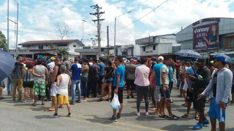 Manifestantes cubanos