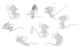 Galería de hojas de  diseño de personajes de Zootopia.