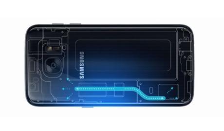 Así es como el Galaxy S7 se mantiene frío con tanto poder