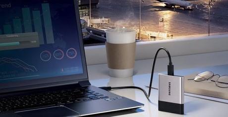 Nuevo SSD portátil de Samsung: USB-C y 2 TB en apenas 50 gramos