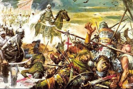 Los últimos reyes visigodos. Hacia 711