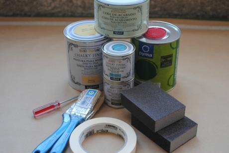 Mesita de noche con Chalk Paint | Antes y Después