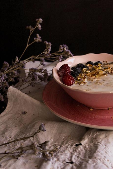 Gachas de avena o Porridge #DiadelTitanic - KIDSANDCHIC