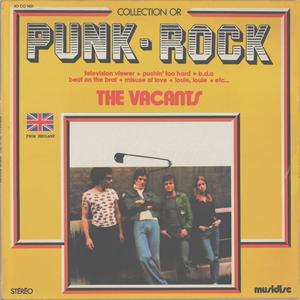 The Vacants - Punk rock Lp 1978