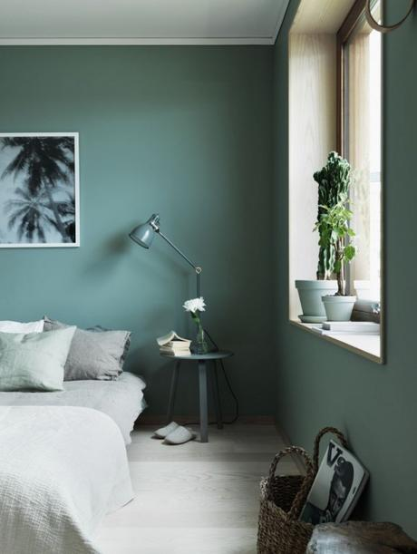 Green smerald bedroom