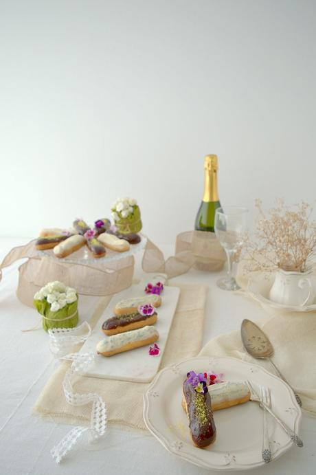 Eclairs au chocolat et a la vanille, el último postre del Titanic
