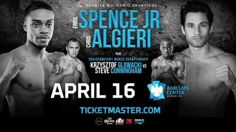 Errol Spence Jr. vs Chris Algieri en Vivo – Sábado 16 de Abril del 2016