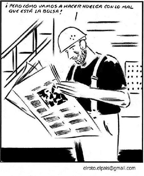 El Roto.Trabajador de derechas