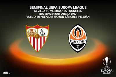 El Sevilla FC se enfrentará al Shakhtar Donetsk en la Semifinal de la Europa League