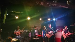 Concierto The Good Company, Madrid, Sala Moby Dick, 14-4-2016.