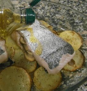cocer merluza al horno