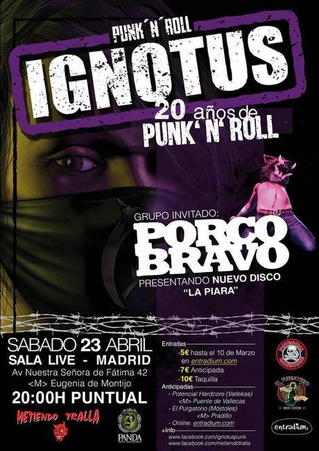 Ingnotus y Poco Bravo en Sala Live