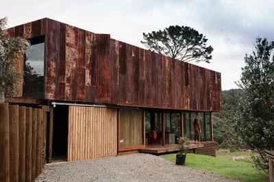 Casa Rustica en Nueva Zelanda