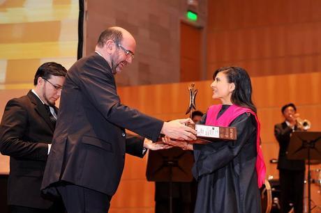 Feliz de recibir dos premios el pasado 13 de abril