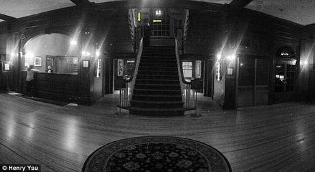 Fantasma del  Hotel Stanley captado en camera