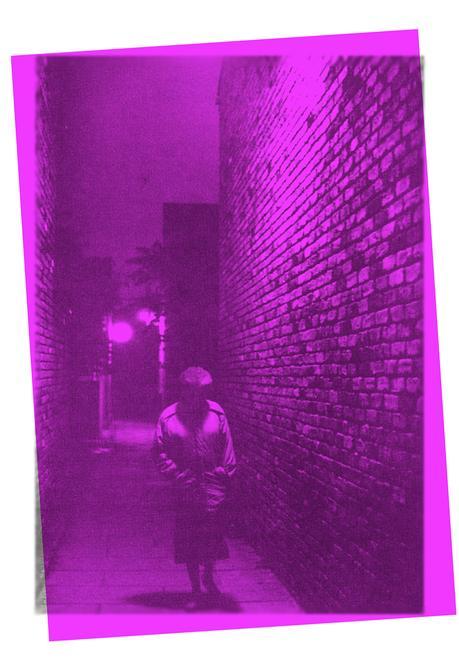 L.H.M. [Temor] # 4, 34 cm x 48 cm ImpresioÔn en tinta sobre papel de algodoÔn, madera y vidrio._1_5 2016 Marcelo Grosman