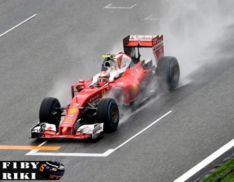 Ferrari se tiene que conformar con una amarga segunda fila