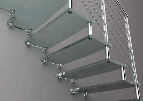 escaleras voladas vanguardia en estado puro