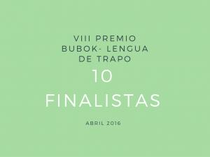Invitación entrega VIII Premio Bubok - Lengua de Trapo
