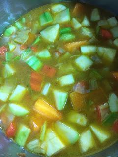 Crema De Verduras Al Curry