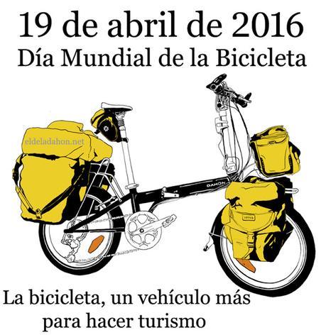 19 de abril. Día Mundial de la Bicicleta