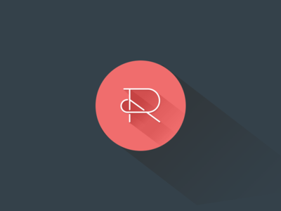 flat design logo 3