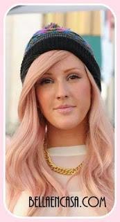Oro Rosado en el cabello, Fórmulas de color para lograrlo.
