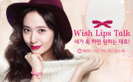 Review   Etude House - Dear my Wish Lips-Talk [TWOFACEMALL]