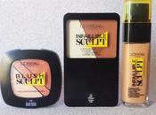 Infallible Sculpt,maquillaje perfecto tres pasos mano L'Oréal Paris.