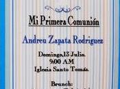 Primera Comunión Bautizo Invitaciones Hechas Mano.