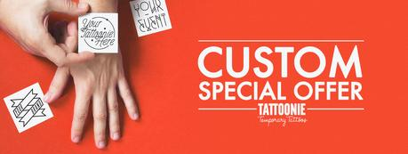 Premium Custom Temporary Tattoos