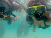 navegando Puerto Rico haciendo snorkel Salty Catamarán