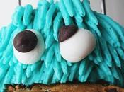 Cupcakes Monstruo galletas