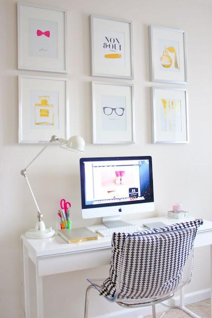 12 incre bles ideas para decorar tu escritorio paperblog - Decoracion de escritorios ...
