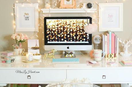 12 incre bles ideas para decorar tu escritorio paperblog - Ideas para escritorios ...
