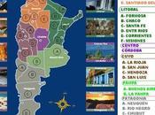 Argentina está compuesta nueve regiones geográficas.